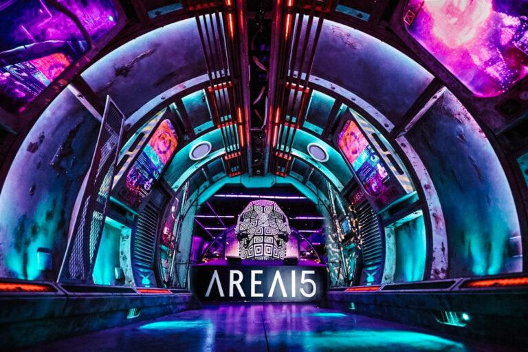 Entrance of Area15 in Las Vegas