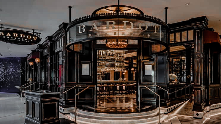 Bardot Brasserie is a perfect way to do a Paris Las Vegas Day