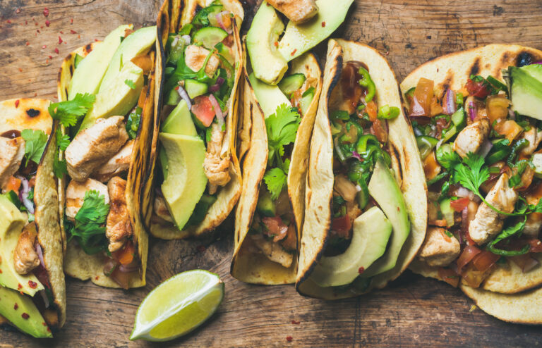Mexican food for Hispanic Heritage Month