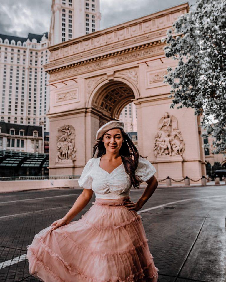 Paris Las Vegas is so cute for all the different photo ideas