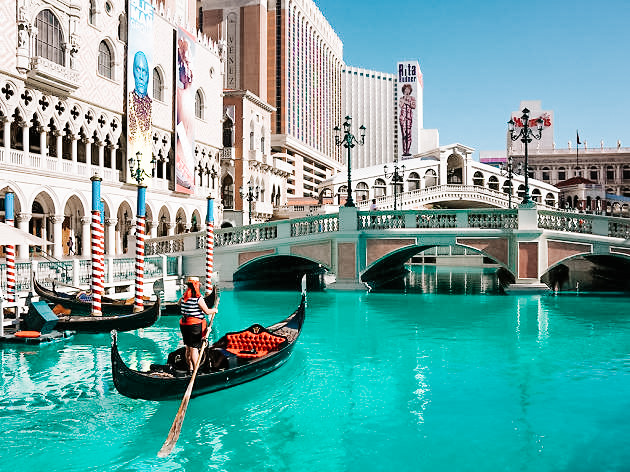 By far one of the coolest ways to get around Las Vegas! Don't miss out on the opportunity to ride on a Gondola at the Venetian