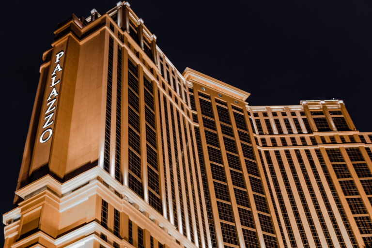 LAS VEGAS - MAY 29, 2015: The Palazzo luxury hotel and casino resort located on the Strip in Las Vegas, Nevada.